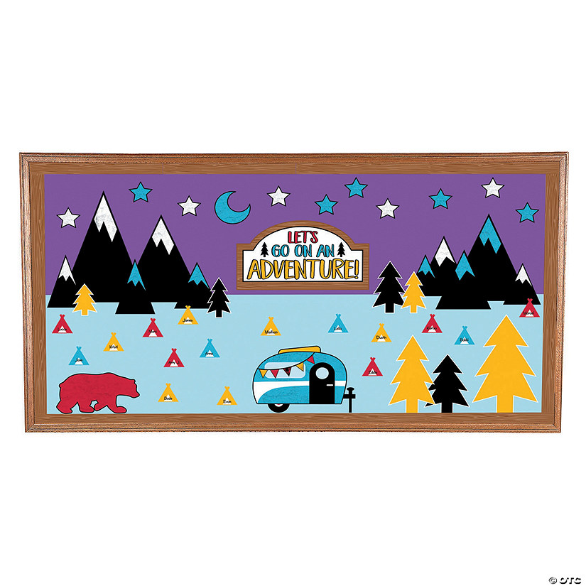 Adventure Bulletin Board Set