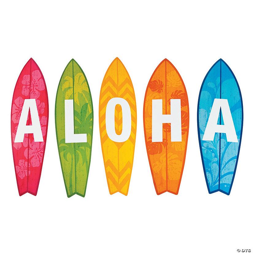 Aloha Surfboard Cutouts