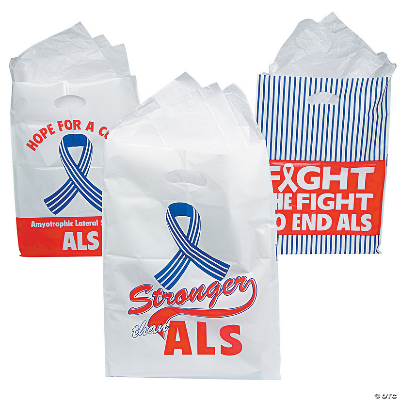 ALS Awareness Favor Bags