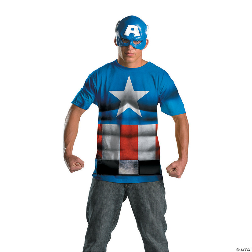 Alternative Captain America Halloween Costume for Men