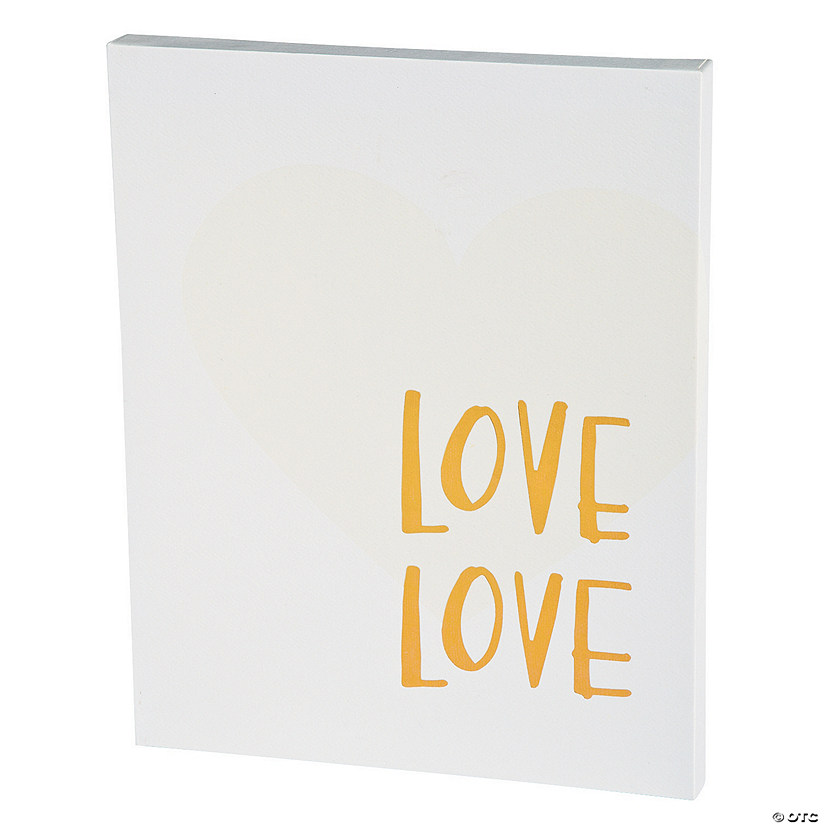 American Crafts™ Love Love Watercolor Panel