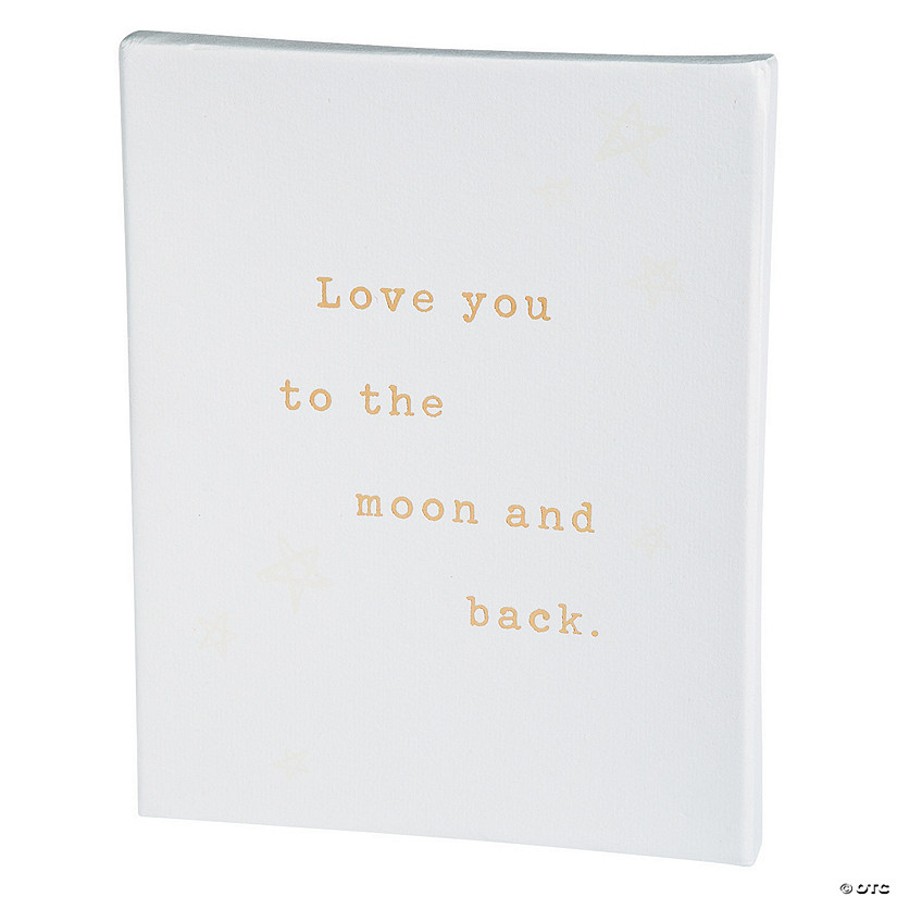American Crafts™ Love You to the Moon and Back Watercolor Panel