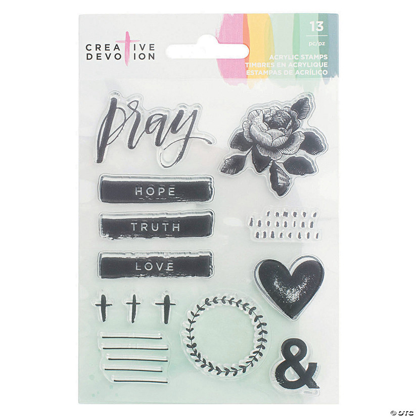 American Crafts™ Pray Stamps