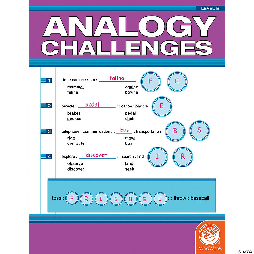 Analogy Challenges: Level B