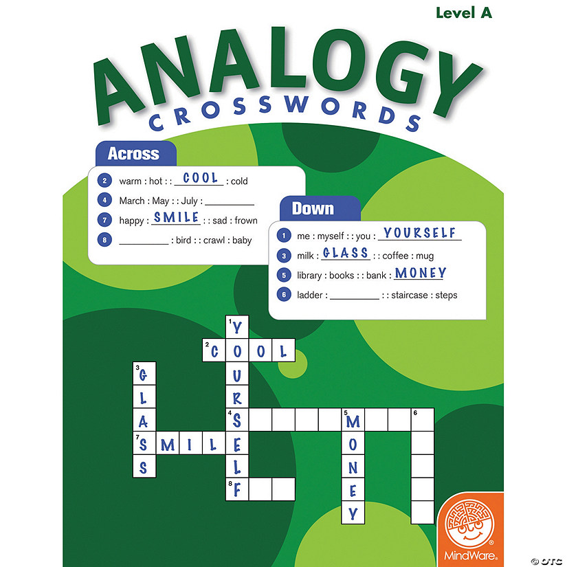 Analogy Crosswords: Level A