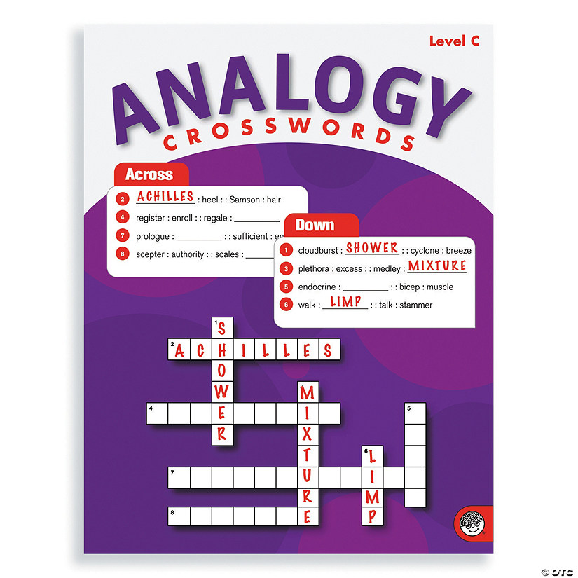 Analogy Crosswords: Level C
