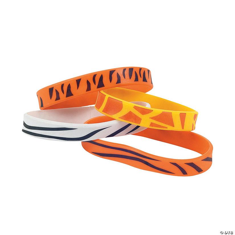 Animal Print Rubber Bracelets