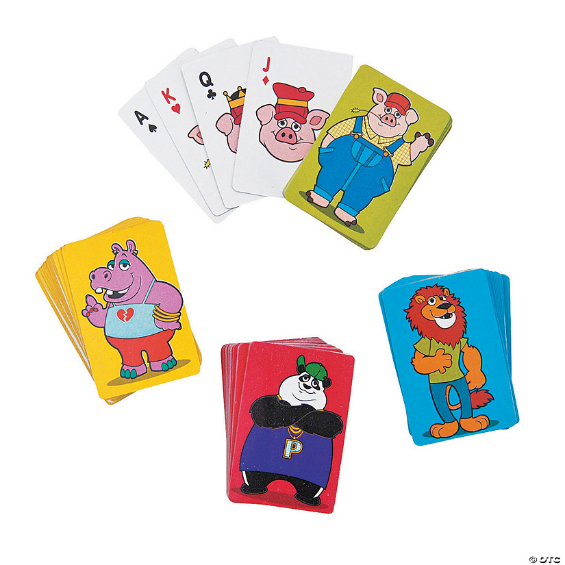 Animals Mini Playing Cards