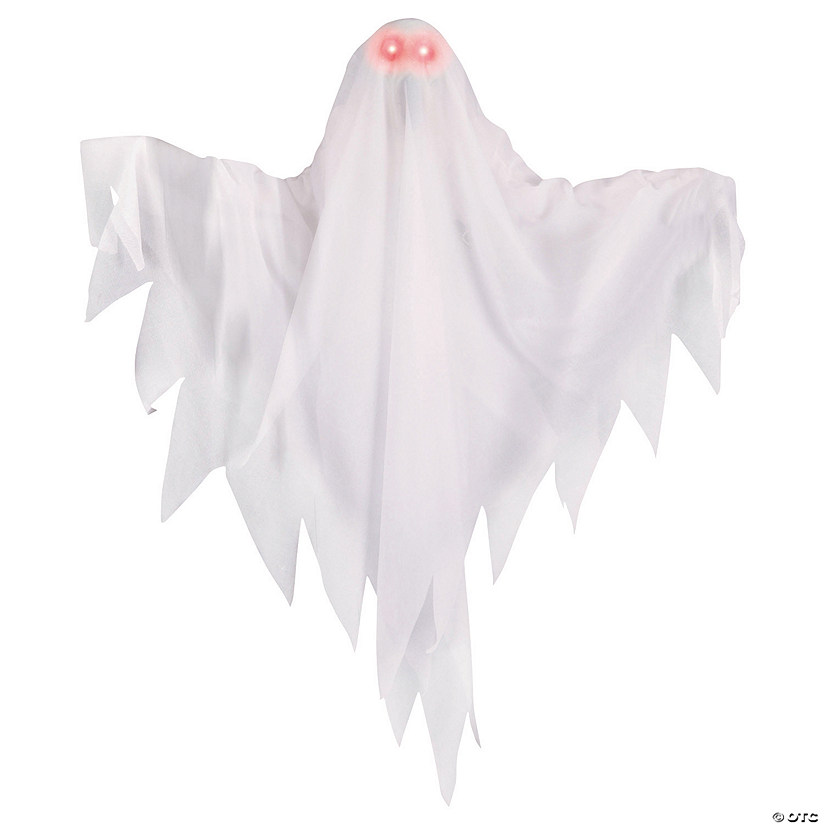 Animated Ghost with Light-Up Eyes