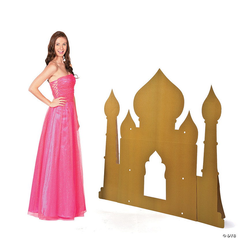 Arabian Palace Silhouette Cardboard Stand-Up