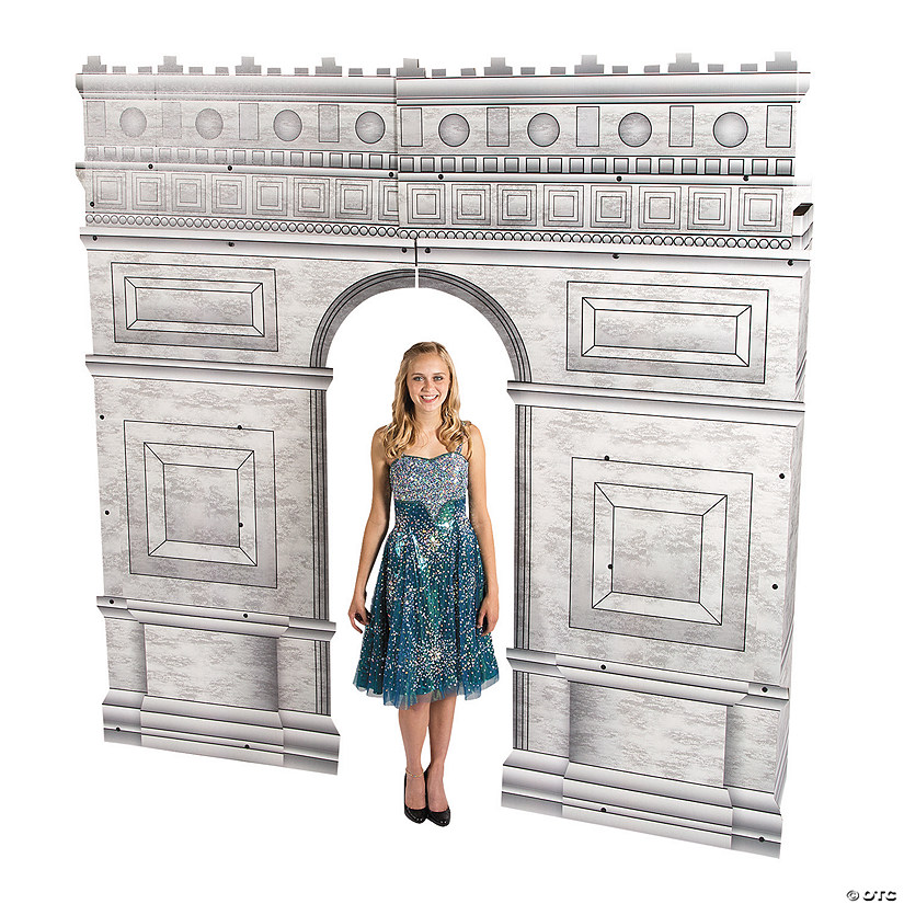 Arc De Triomphe Archway Cardboard Stand-Up