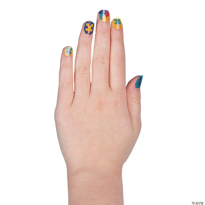 Autism Awareness Nail Decals