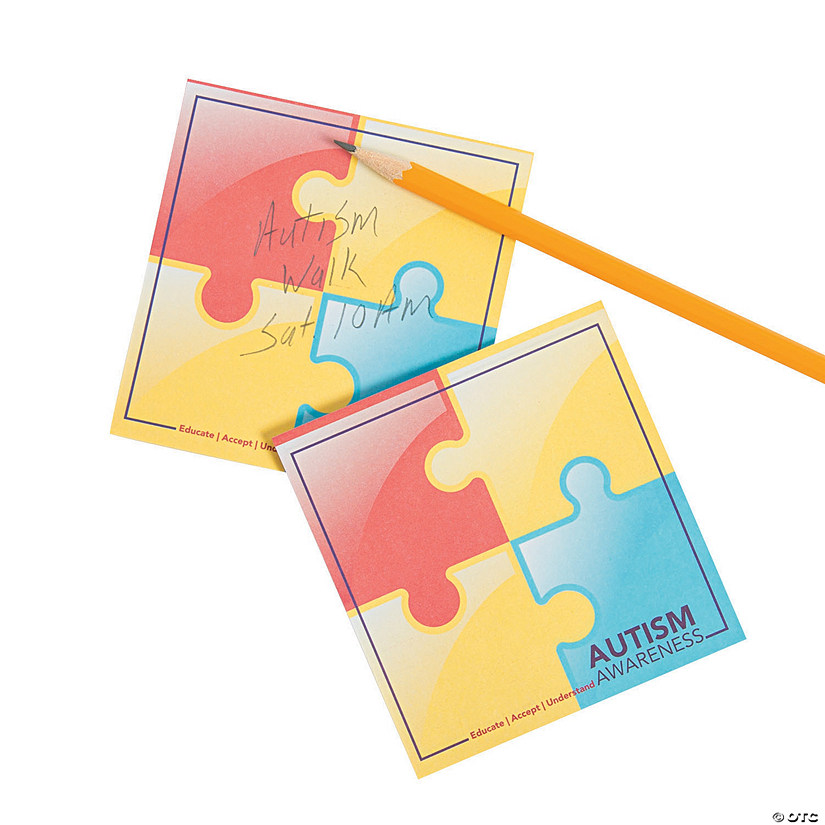 Autism Sticky Notes