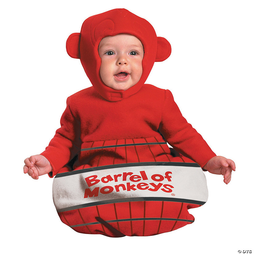 Baby Barrel Of Monkeys Costume