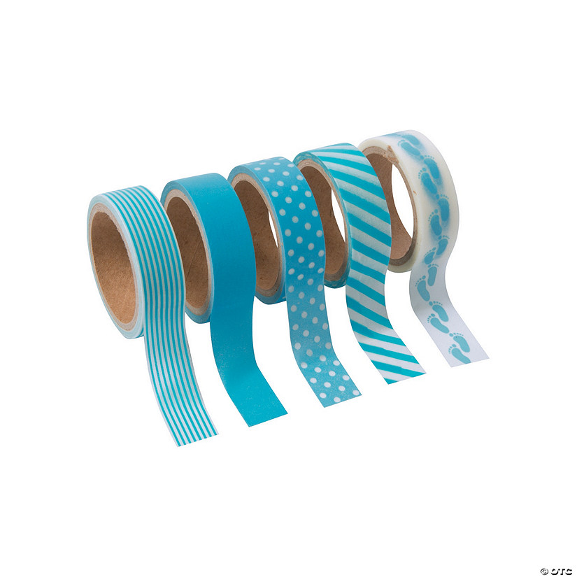Baby Boy Washi Tape Set