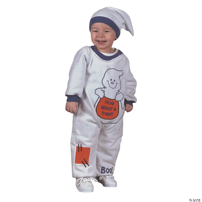 Baby Ghost Jumpsuit Costume