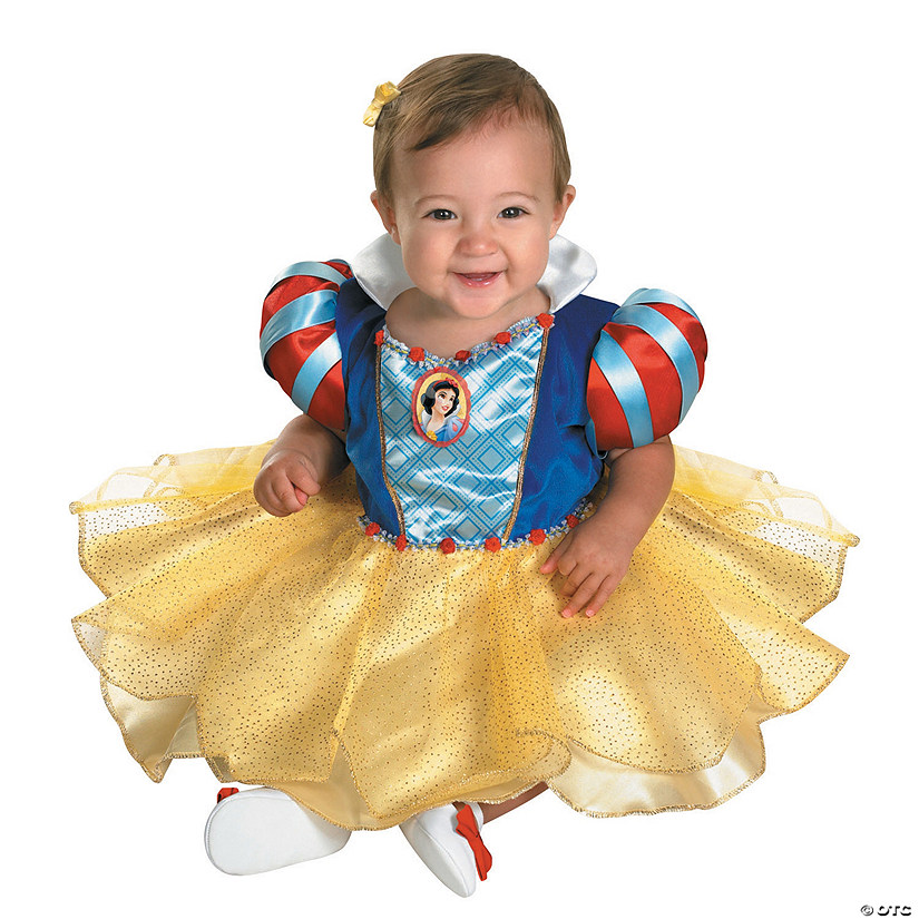 New Nip Disney Baby Girls Halloween Cinderella Costume 6: Baby Girl's Disney's Snow White™ Ruffle Costume