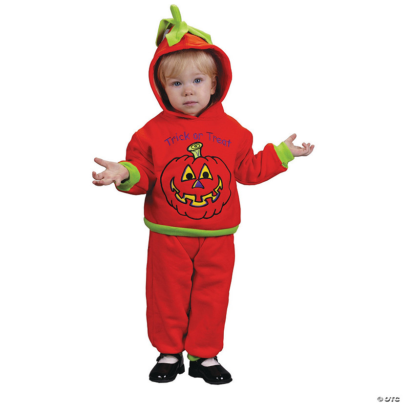 Baby Hooded Pumpkin Costume - 18-24 Months