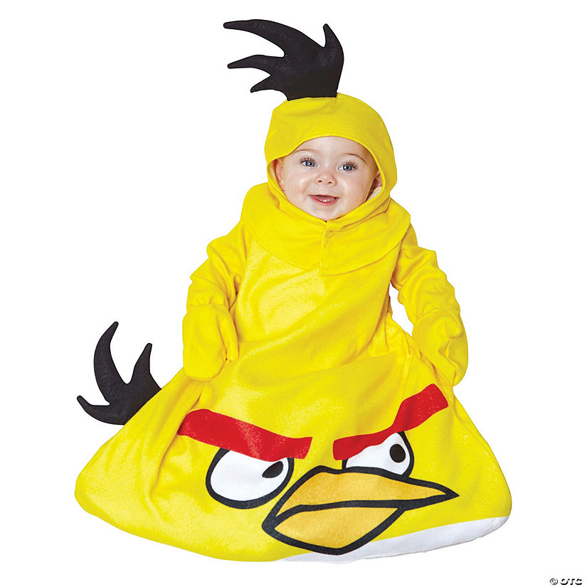 Baby Yellow Angry Birds Costume