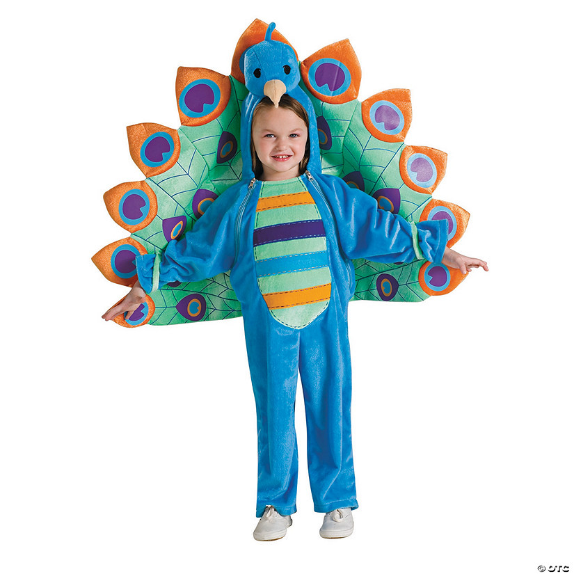 Baby/Toddler Peacock Costume