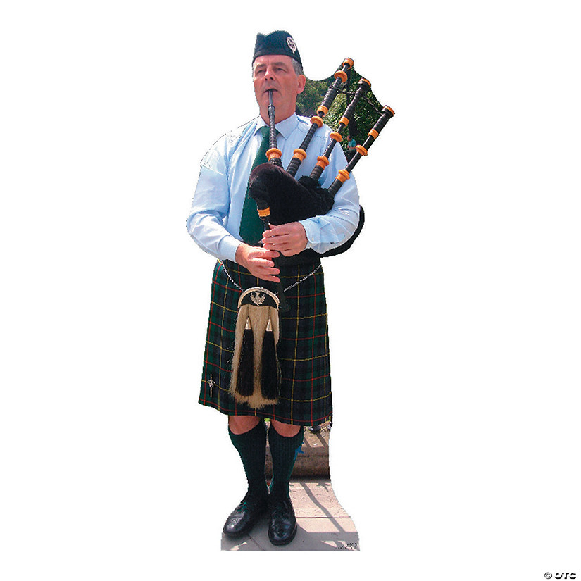Bagpiper Cardboard Stand-Up