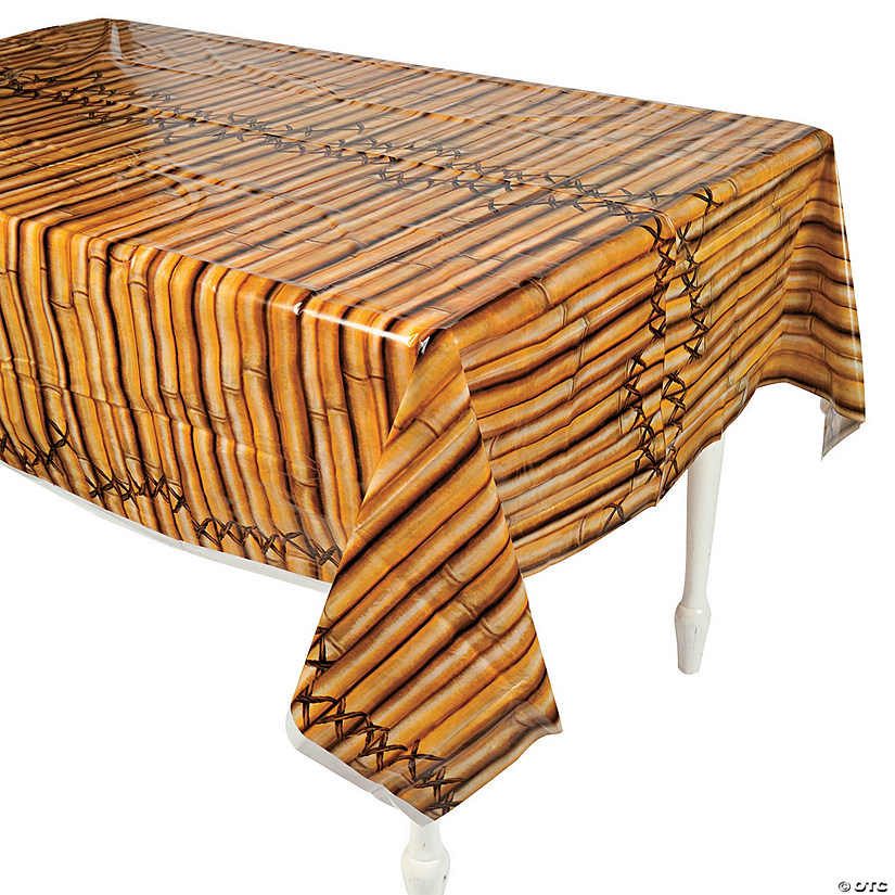 Bamboo Plastic Tablecloth
