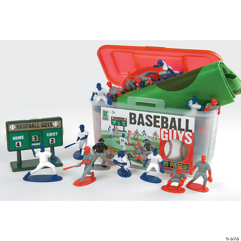 Baseball Guys: Blue & Red Action Figures