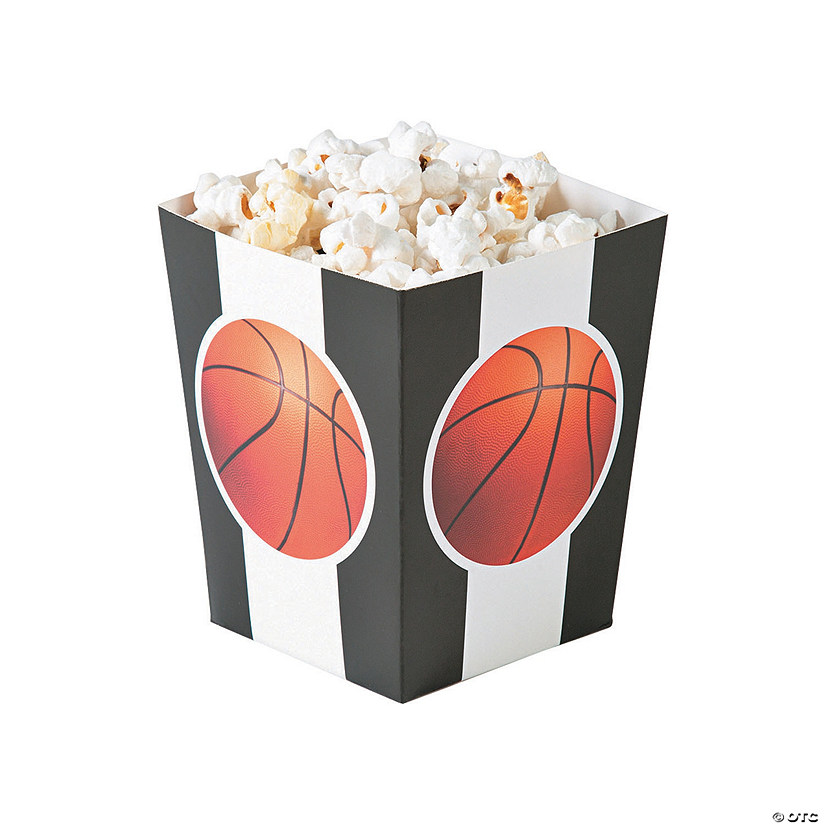 Basketball Popcorn Boxes