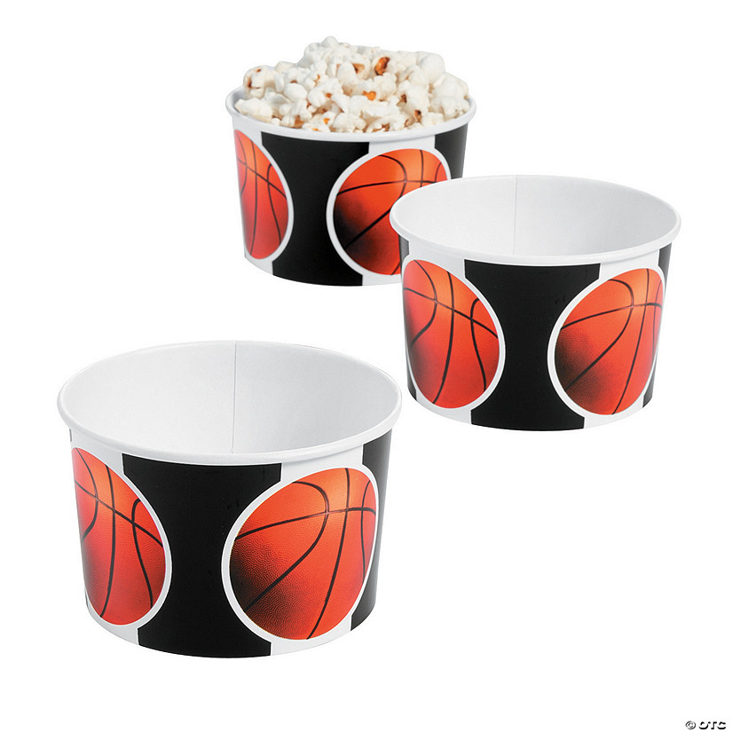 Basketball Snack Bowls