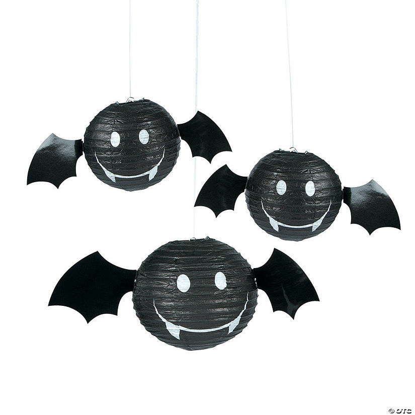 Bat Hanging Paper Lanterns