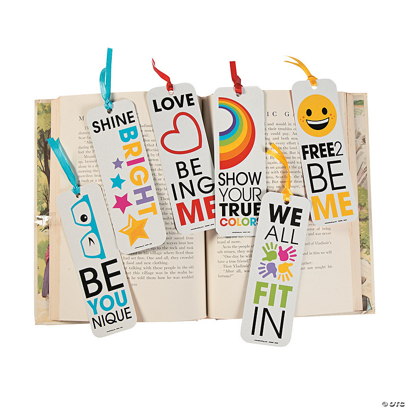 Be You Laminated Bookmarks