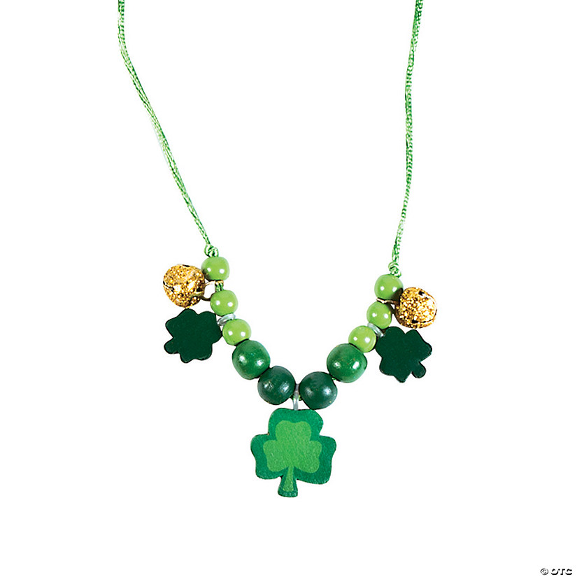 Beaded St. Pat's Necklace Craft Kit