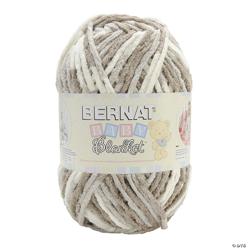 Bernat Baby Blanket Big Ball Yarn- Little Sand Castles