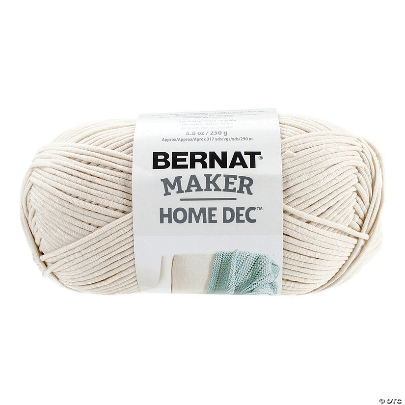 Bernat Bernat Maker Home Dec Yarn-Cream 8.8 oz