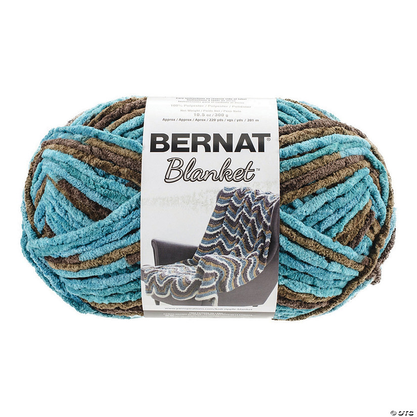 Bernat Blanket Big Ball- Mallard Wood 10.5oz