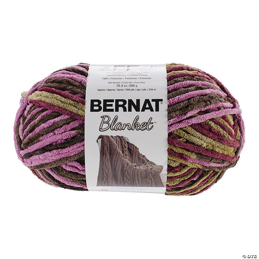 Bernat Blanket Big Ball- Plum Chutney