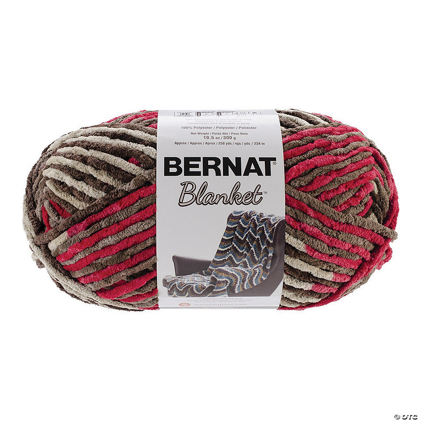Bernat Blanket Big Ball-Raspberry Trifle