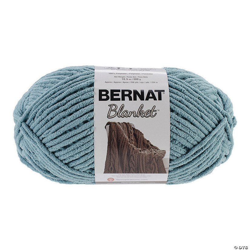 Bernat Blanket Big Ball Yarn-Teal