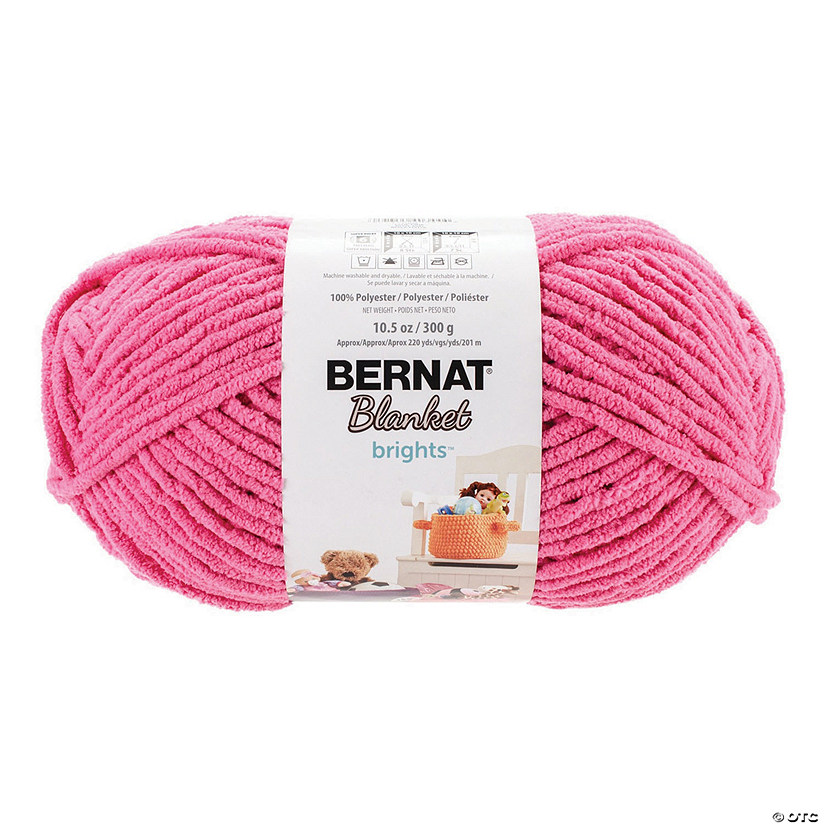 Bernat Blanket Brights Big Ball- Pixie Pink 10.5oz