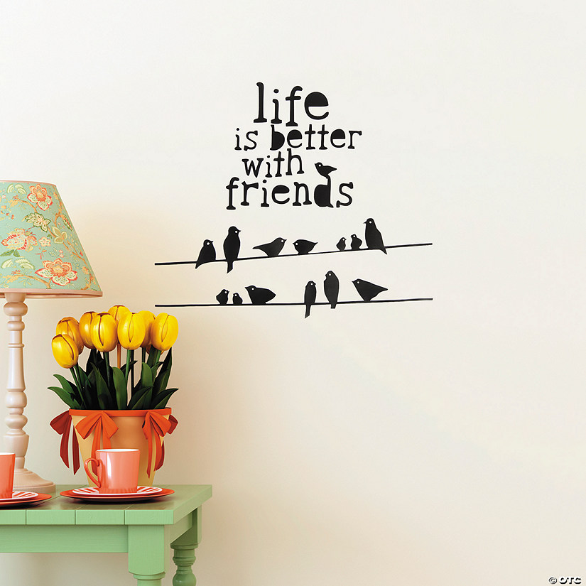 Better with Friends Wall Decals