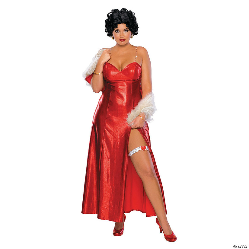 Plus Size Halloween Costumes 2019.Betty Boop Starlet Plus Size Adult Women S Costume Discontinued