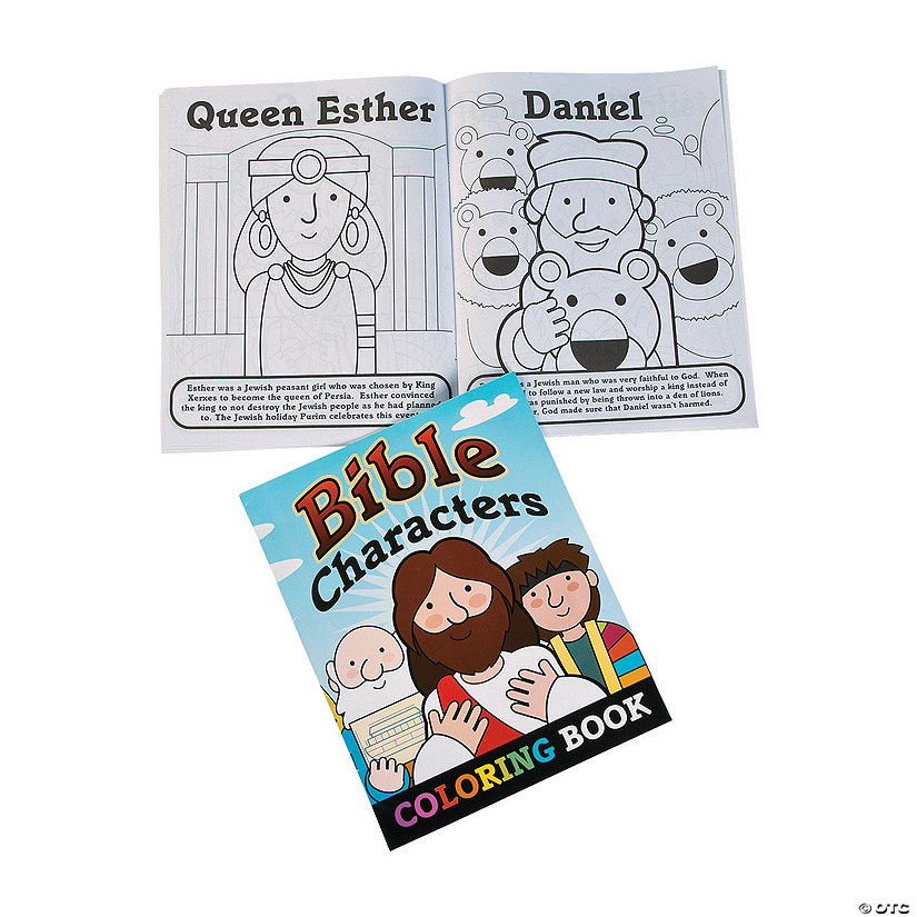 Bible Story Coloring Books