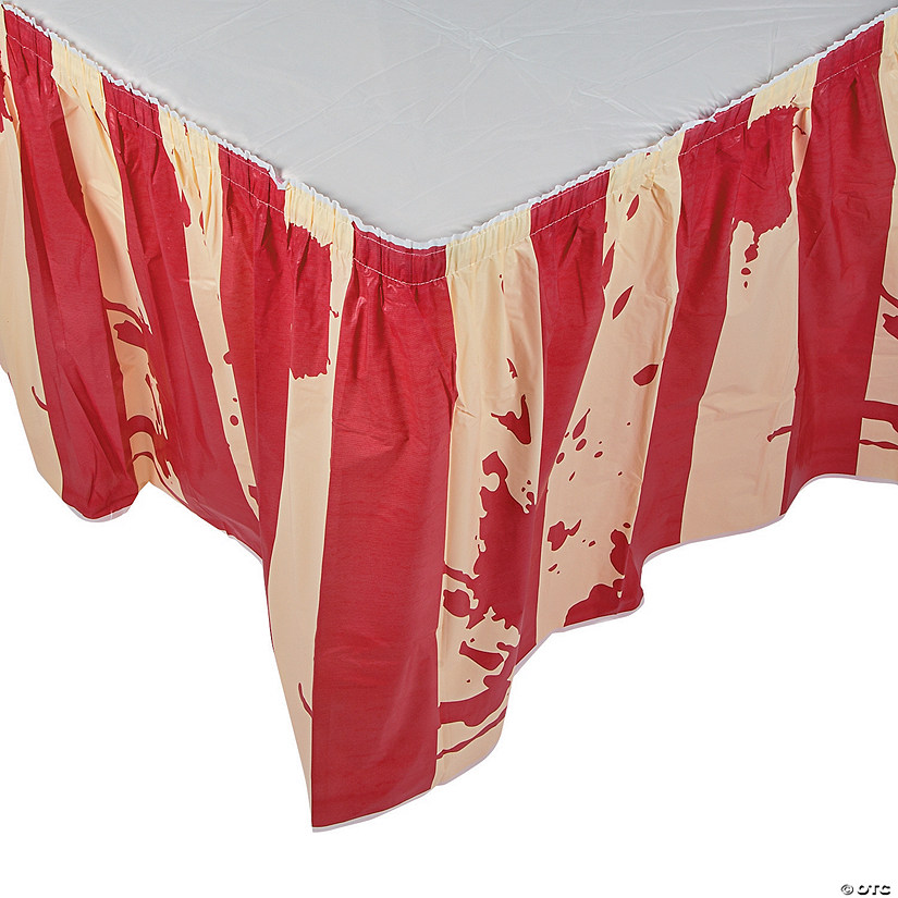 Big Top Terror Table Skirt