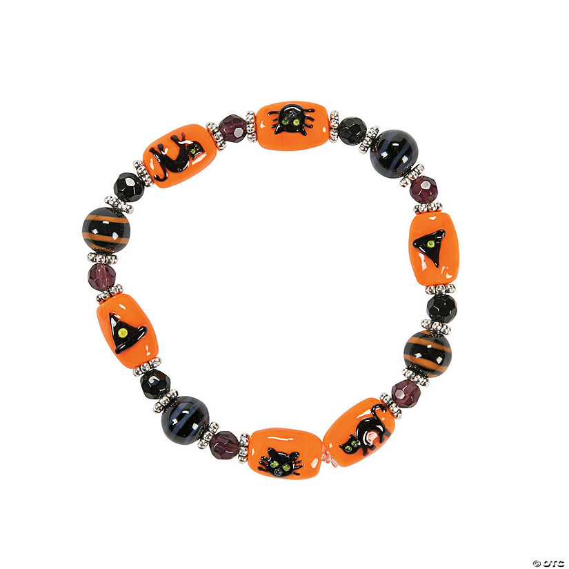 Black Cat Lampwork Bracelet Craft Kit