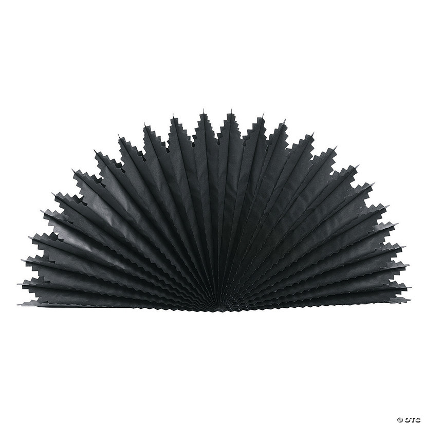 Black Fan Burst Centerpieces