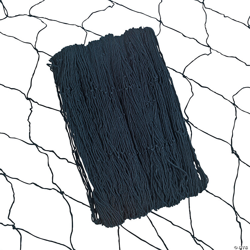 Black Fish Net Wall Decoration