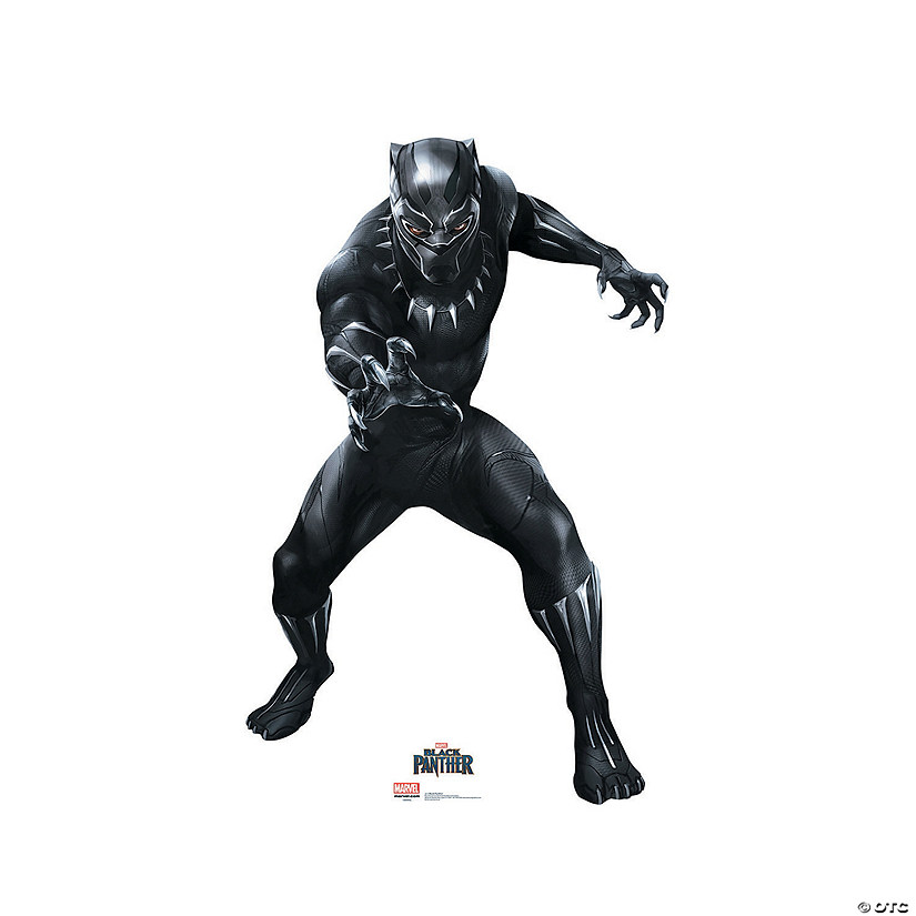 Black Panther Cardboard Stand-Up