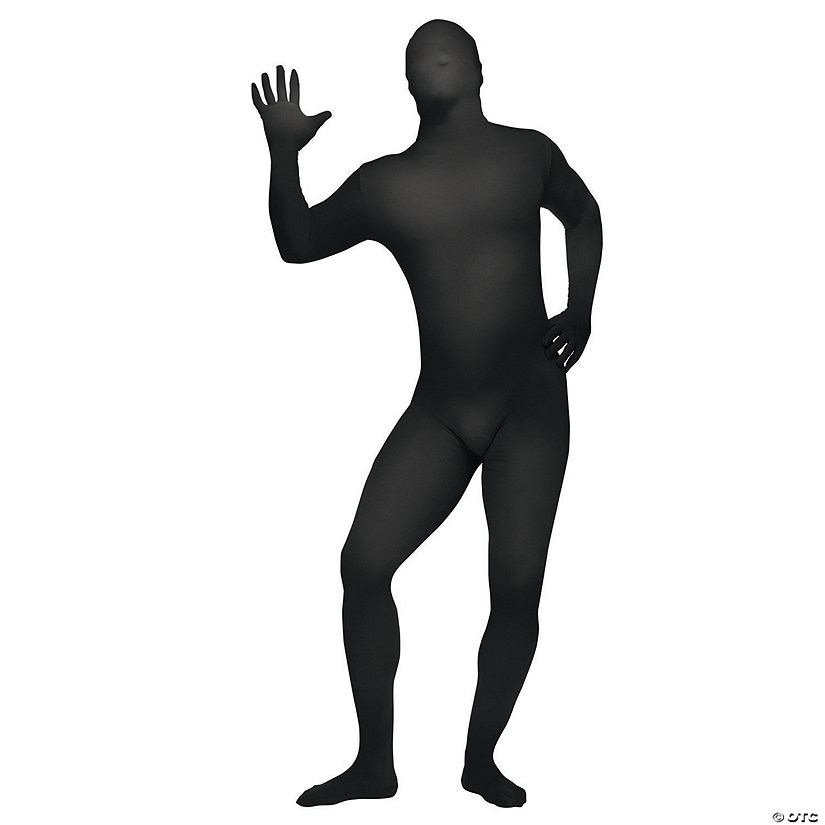 Black Skin Suit Halloween Costume for Teen/Adult Small