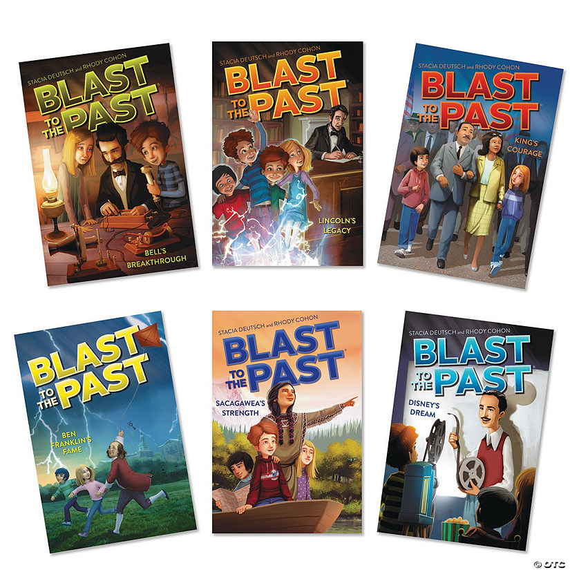 Blast to The Past Books: Set of 6