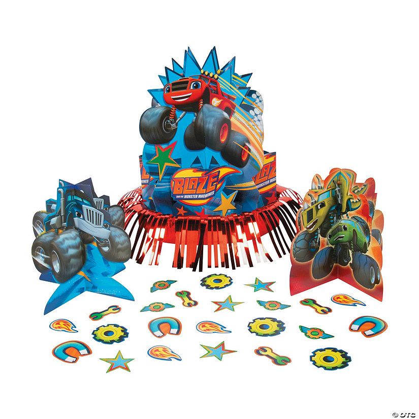 Blaze & The Monster Machines™ Table Decorating Kit